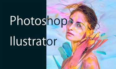 開業マーケティングコースではPhotoshopとllustrator の使い方も…。